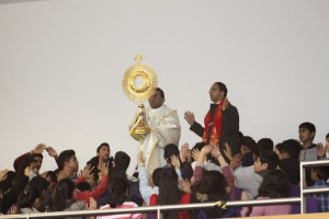 Second Saturday Convention - Eucharistic procession